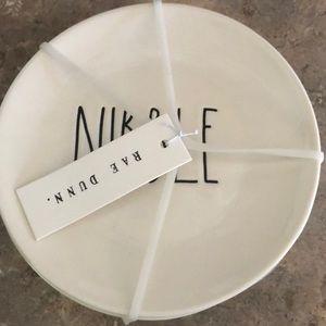 Rae Dunn Kitchen - New 4 piece Rae Dunn plate set
